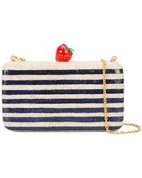 Kayu - Striped Strawberry Clutch Bag - Lyst