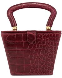 STAUD - Sadie Mini Structured Bag - Lyst