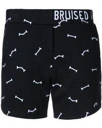 Zoe Karssen - Bruised Not Broken Shorts - Lyst