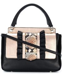 Just Cavalli - Snake Effect Tote Bag - Lyst