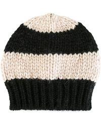 Danielapi - Striped Knit Beanie - Lyst