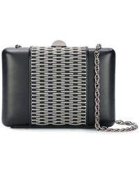 Rodo - Metal Appliqué Clutch Bag - Lyst