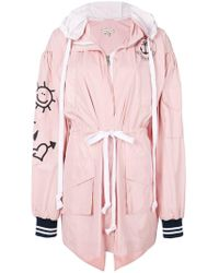 Natasha Zinko - Oversized Hooded Jacket - Lyst