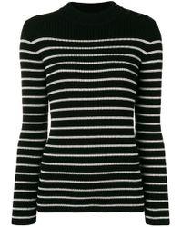 Saint Laurent - Striped Sailor Sweater - Lyst