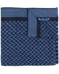 Bally - Logo Knitted Scarf - Lyst