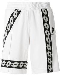 Damir Doma - Logo Stripe Shorts - Lyst