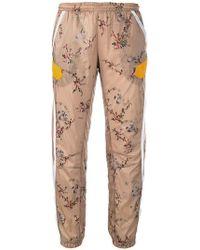 Preen By Thornton Bregazzi - Floral Print Track Trousers - Lyst
