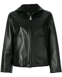 Sylvie Schimmel - Hooded Zip Up Jacket - Lyst