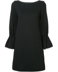OSMAN - Quilted Shift Dress - Lyst