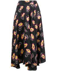 Etro - Printed Midi Skirt - Lyst