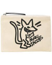 Marc Jacobs - Stinky Rat Print Clutch - Lyst