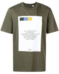 OAMC - Invitation Printed Cotton T-shirt - Lyst