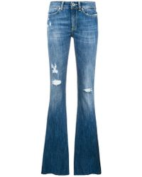 Dondup - Flared Jeans - Lyst