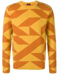 Roberto Collina - Qube Crew Neck Sweater - Lyst