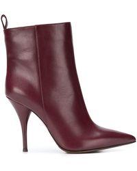 L'Autre Chose - Pointed Toe Ankle Boots - Lyst