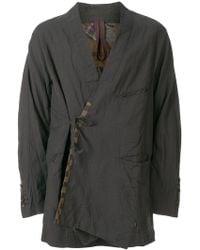 Ziggy Chen - Wrap Front Jacket - Lyst