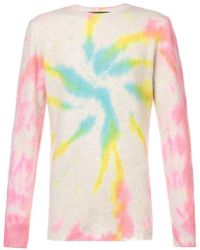 The Elder Statesman - Tie Dye Cashmere Sweater - Lyst