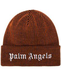 Palm Angels - Embroidered Logo Beanie - Lyst
