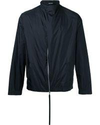 Berthold - Wrap Neck Lightweight Jacket - Lyst