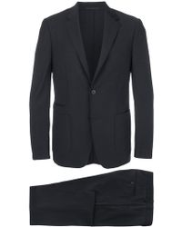 Z Zegna - Fitted Two Piece Suit - Lyst