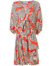 Henrik Vibskov - Grace Print Asymmetric Dress - Lyst