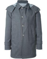 Moncler Gamme Bleu - Hooded Coat - Lyst