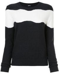 Jil Sander Navy - Striped Sweater - Lyst