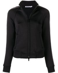 T By Alexander Wang - Logo Stripe Sports Jacket - Lyst