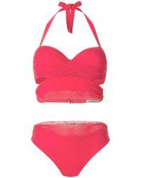 Gentry Portofino - Two-piece Tulle Bikini - Lyst