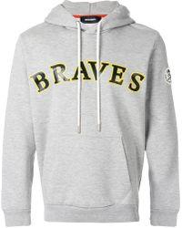 DIESEL - Braves hoodie - Lyst