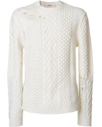 Damir Doma - Distressed Sweater - Lyst