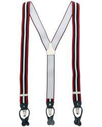 Dell'Oglio - Striped Braces - Lyst
