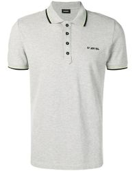 a7e5a4f2 Lyst - DIESEL 'thamal' Polo Shirt in Red for Men