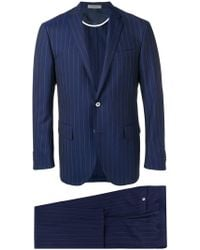 Corneliani - Striped Two-piece Suit - Lyst