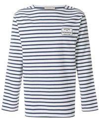 Maison Kitsuné - Striped Long-sleeve Jumper - Lyst