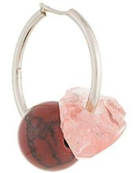 Proenza Schouler - Cluster Hoop Earring - Lyst