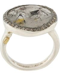 Rosa Maria - Quartz And Diamond Ring - Lyst