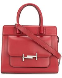 Tod's   Logo Buckle Tote Bag   Lyst