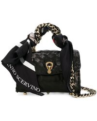 Ermanno Scervino - Scarf Embellished Mini Bag - Lyst