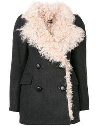 Isabel Marant - Berit Shearling Coat - Lyst