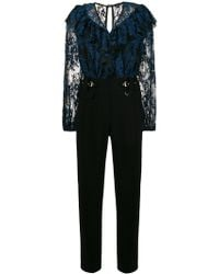 Three Floor - Lace Detailed Jumpsuit - Lyst