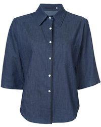 Harvey Faircloth - Chambray Shirt - Lyst