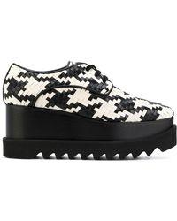 Stella McCartney - Lace-up Platform Shoes - Lyst