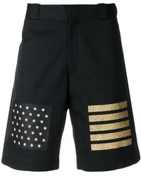 Palm Angels - Flag Stamps Shorts - Lyst