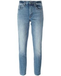Helmut Lang - Cropped Skinny Jeans - Lyst