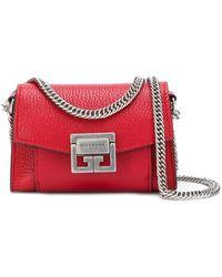 f229bdc8bcc7 Lyst - Givenchy Tan Nano Gv3 Belt Bag Pouch