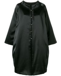 Gianluca Capannolo - Oversized Single-breasted Coat - Lyst