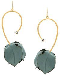 Marni - Tulip Drop Pendant Earrings - Lyst