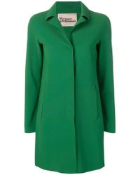 Herno - Classic Single-breasted Coat - Lyst