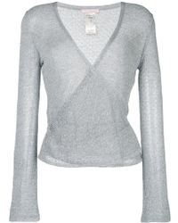 Kristina Ti - Wrap Style Cardigan - Lyst